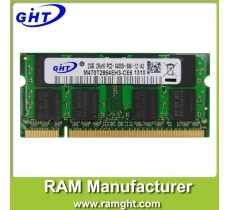 laptop ram ddr2 2gb 800mhz with ETT chips