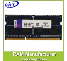 wholesale laptop ddr3 ram 2gb 1333 pc3-10600 with ETT original chips
