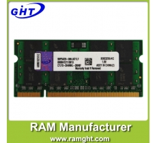 4gb ram ddr2 laptop 256mb*8 with ETT chips