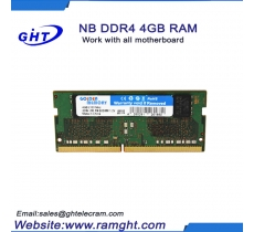 Cheap items to sell ETT chips 4gb ddr4 so-dimm ram price