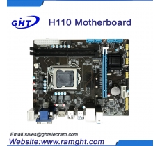 Dual Channel H110 mini itx motherboard lga1151 computer mainboard