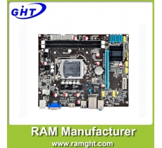 Motherboard with cpu and ram lga1155 for ddr3 H61