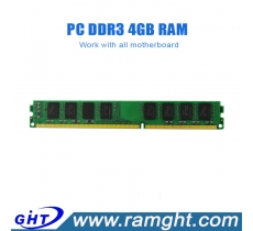 Unbuffered ddr3 4gb 1333mhz 240pin pc10600 ram memory