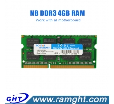 Sodimm 1333 mhz 256mbx8 4gb ddr3 ram for laptop